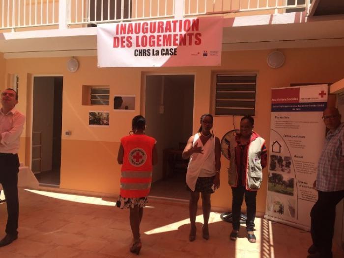 Croix-Rouge Martinique : inauguration d'un nouveau centre d'hébergement et de réinsertion sociale