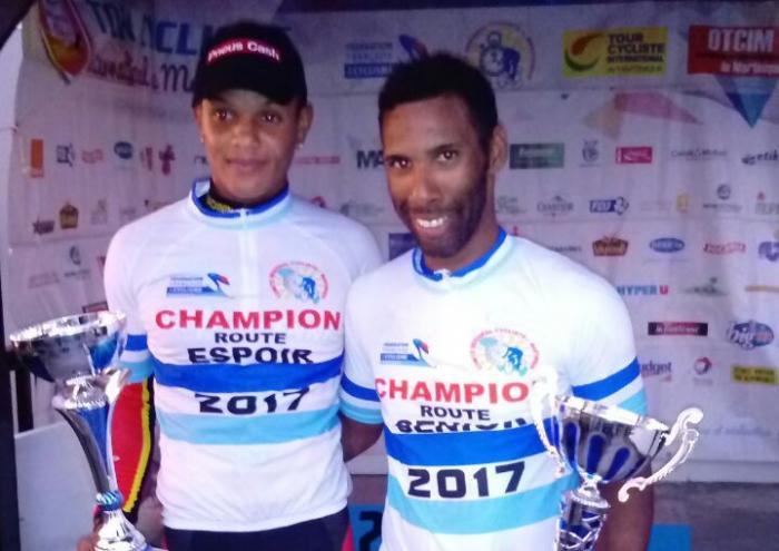 Cyclisme sur route : Michaël Laurent est champion de Martinique
