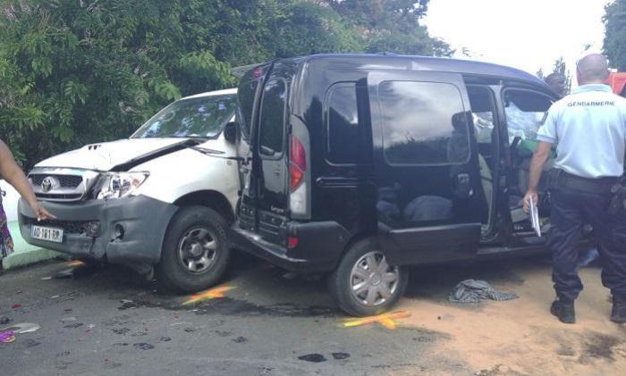 Deux blessés dans un accident de la route après le Vauclin
