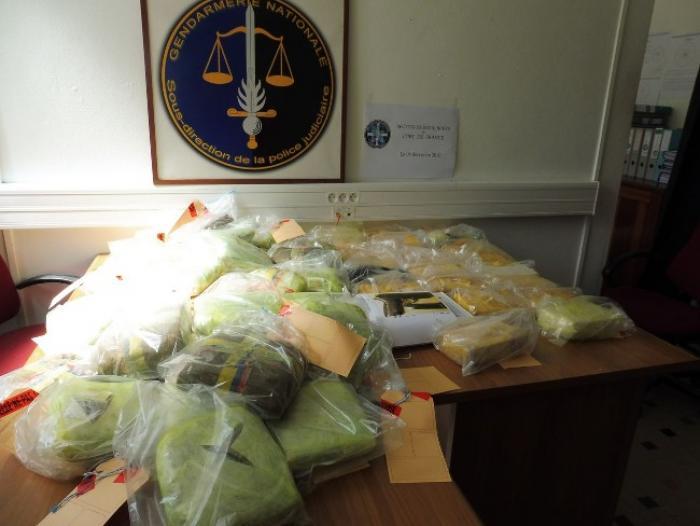 Drogues : Un trafic inter-îles démantelé