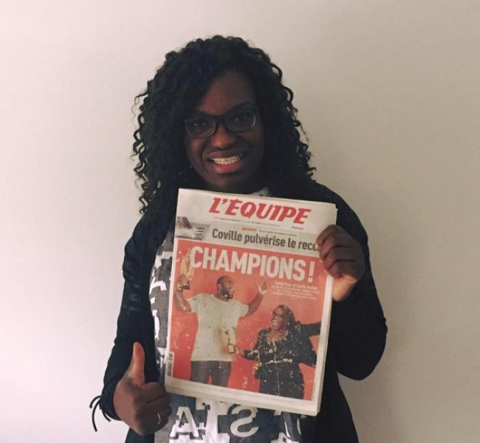 Emilie Andéol championne des championnes 2016