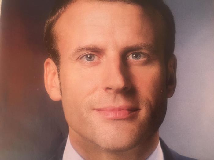 Emmanuel Macron, 39 ans, le plus jeune président de la Vème République