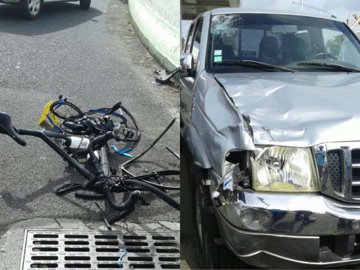 Fauché par une voiture, un cycliste décède sur la RN5