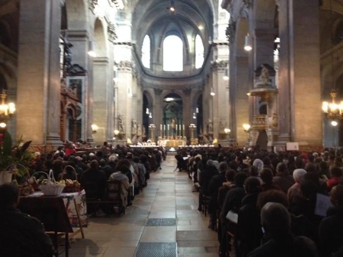 Ferveur à la messe annuelle des antillais et guyanais