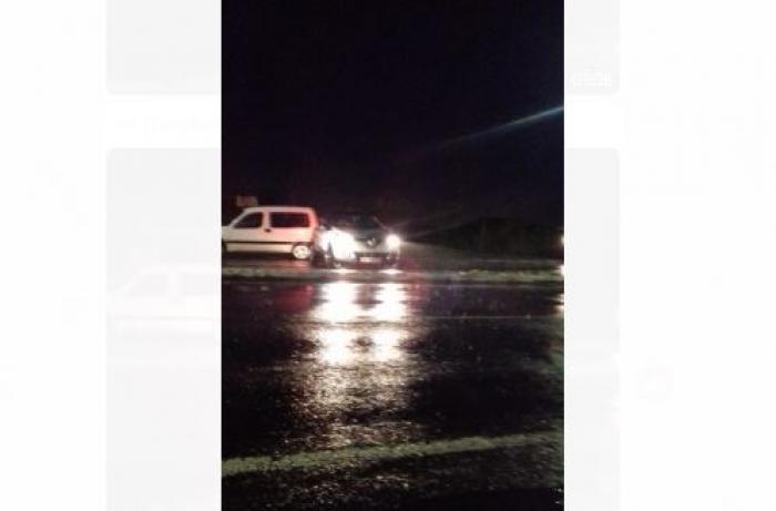 Fortes pluies : circulation difficile à Rivière-Salée sur la RN5
