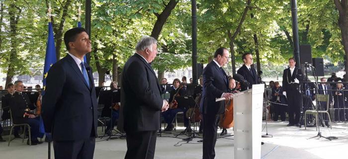 François Hollande annonce la création d'une fondation pour la mémoire de l'esclavage