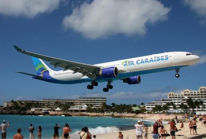 French Blue quitte notre région au profit d'Air Caraïbes