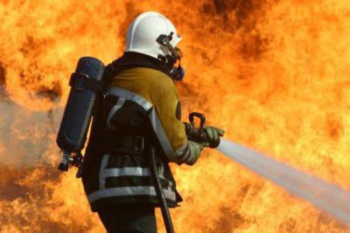 Incendie d'une habitation à Houezel au Gosier