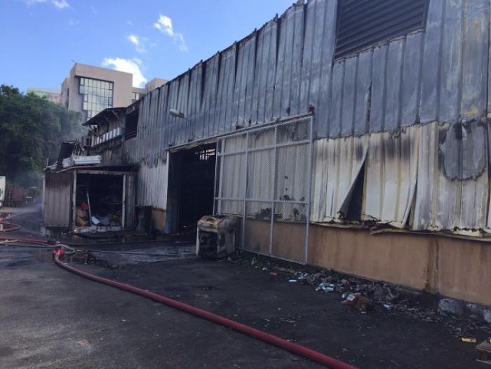 """Incendie à la Jambette : """"On ne se laissera pas abattre"""""""