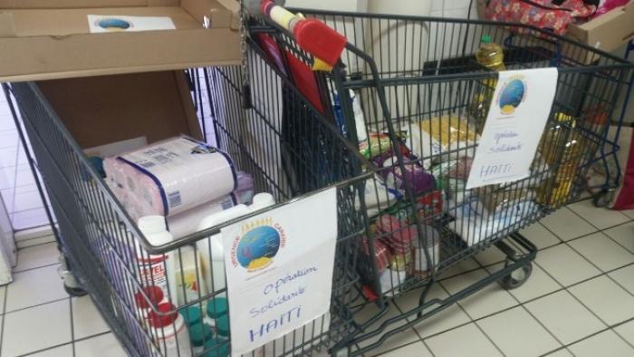 L'aide humanitaire à destination d'Haïti va quitter la Martinique, ce mardi 15 novembre