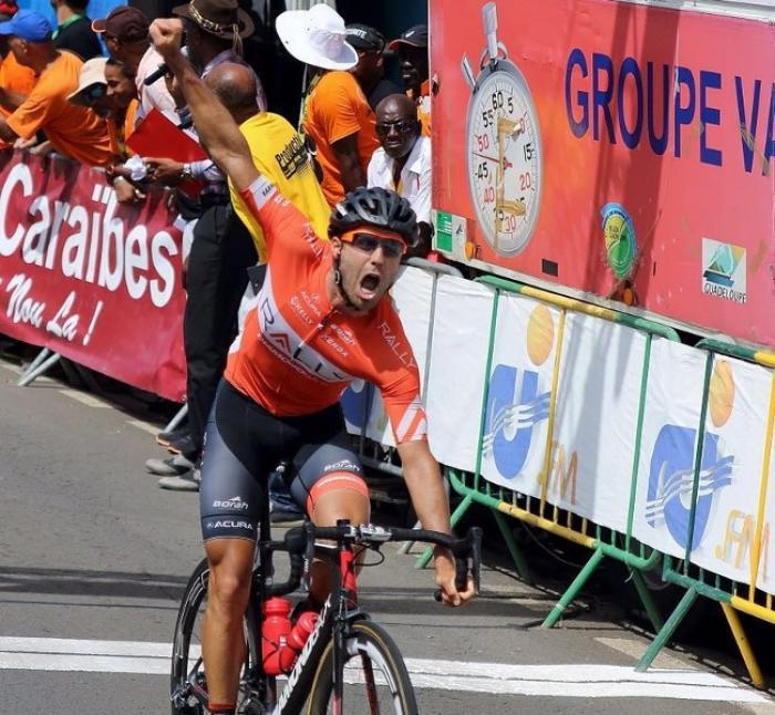 L'Américain Jesse Anthony arrache la 3e étape du tour de Guadeloupe
