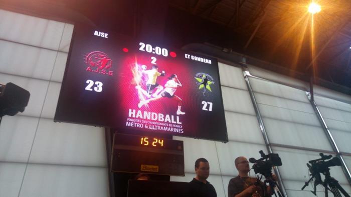 L'Etoile de Gondeau s'impose pour son premier match des finalités de handball
