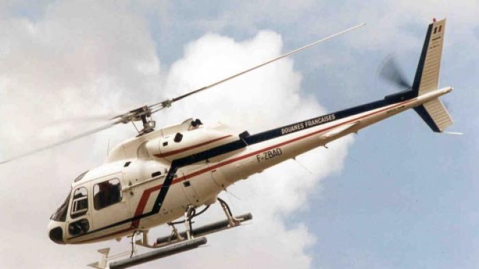 L'hélicoptère de la douane cloué au sol suite à un incendie