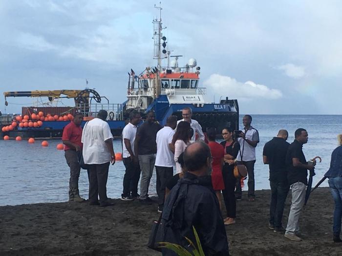 L'opérateur Orange déploie son câble sous-marin afin d'améliorer la qualité du réseau