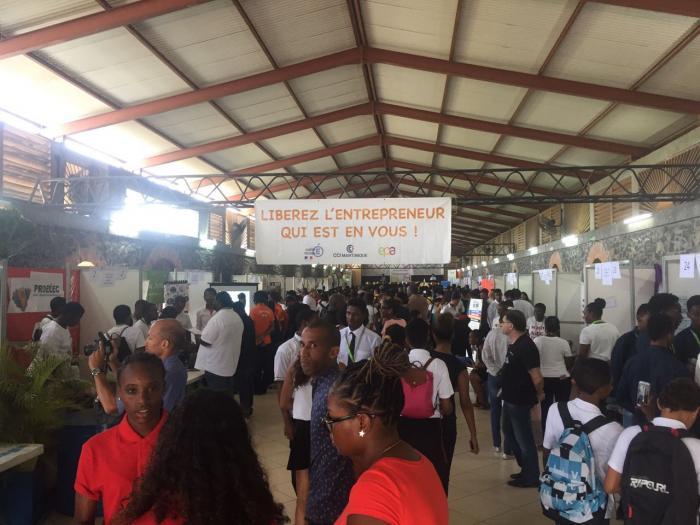 La 3ème édition du salon des mini-entreprises a réuni près de 400 élèves