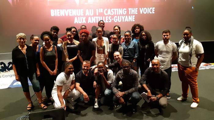 La Finale du Casting The Voice en Martinique