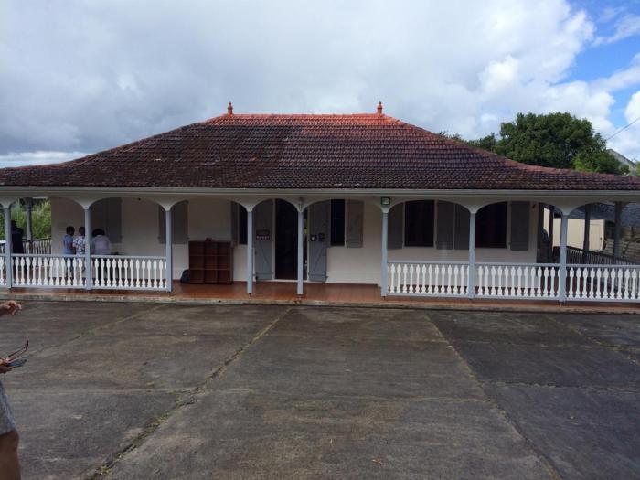 La maison d'Aimé Césaire est ouverte au public tous les dimanches