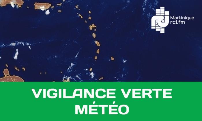 La Martinique de retour en vert : la pluie stagne en mer
