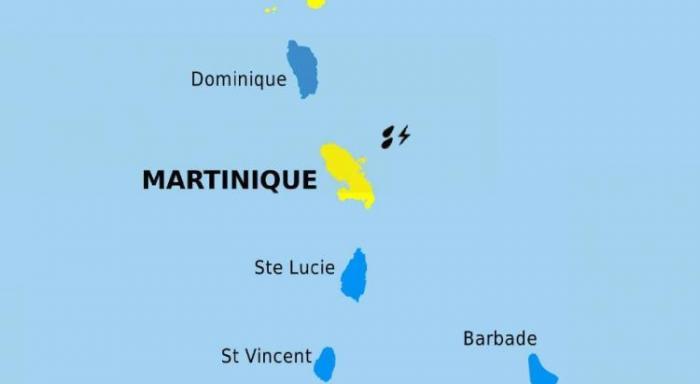 La Martinique en vigilance jaune pour fortes pluies et orages