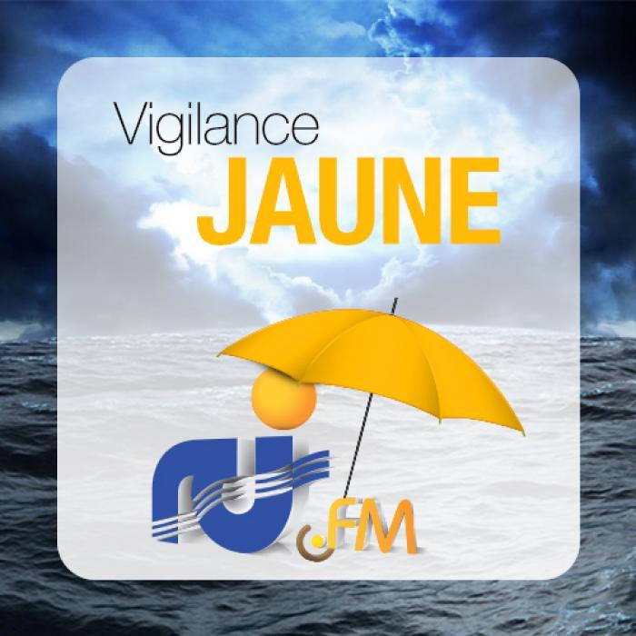 La Martinique passe au jaune pour fortes pluies