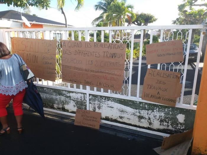La mobilisation des parents d'élèves ne faiblit pas à l'école Hilarion Léogane