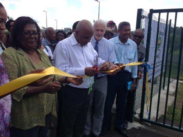 La piste cyclable de Ducos a été inaugurée