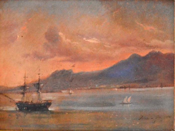La plus ancienne peinture de la baie de Pointe-à-Pitre au musée Saint-John Perse