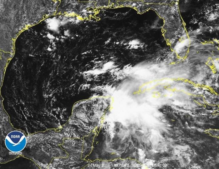 La toute première tempête tropicale baptisée. Les Antilles pas concernées