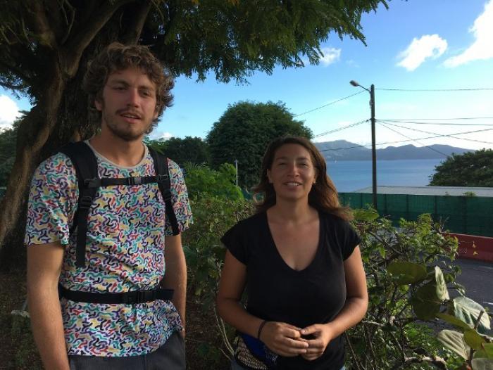 La traversée de l'Atlantique ou le rêve réalisé de Pierre et de Manon