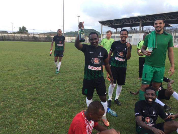 Le Club Franciscain est champion de Martinique de football