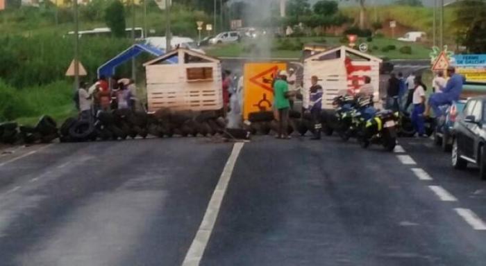Le Collectif de Défense Mobile bloque de nouveau à Nogent Sainte-Rose