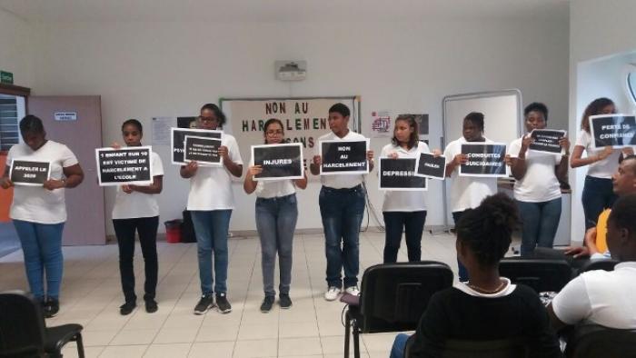 Le collège Vincent Placoly se mobilise dans la lutte contre le harcèlement scolaire