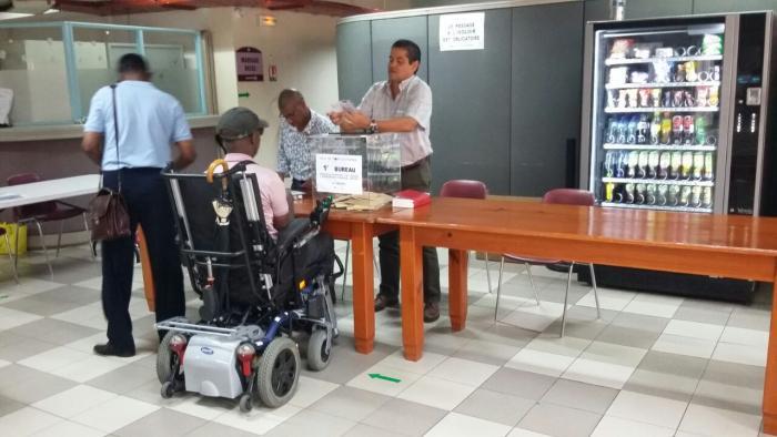 Le handicap n'est pas un frein au vote