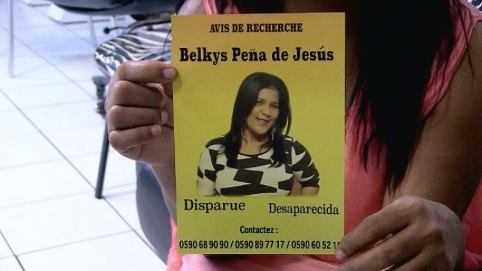 Le mari de Belkys Penã de Jésus serait auditionné par la police