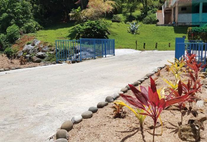 Le pont de la rivière Pierrot à Sainte-Marie inauguré