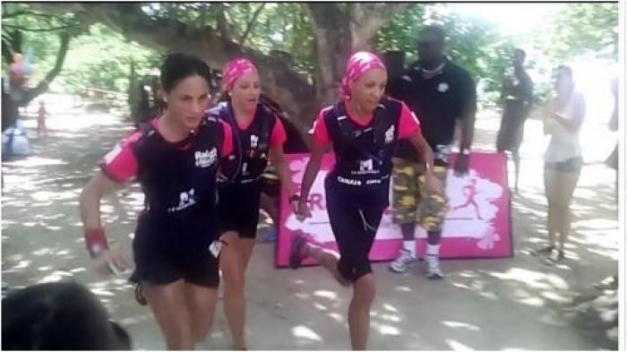 Le Raid des Alizés 2015 remporté par  Bout'Fanm 972 devant Khama de la Guadeloupe