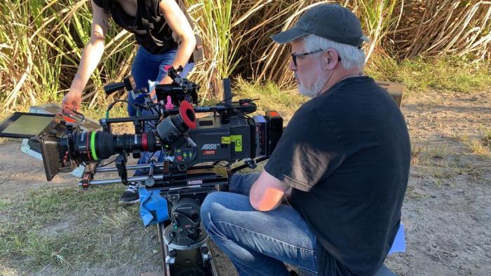 Le tournage d'un épisode de Joséphine Ange Gardien est en cours depuis 4 jours