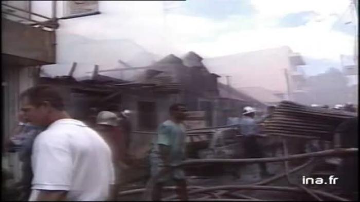 Les incendies qui ont marqué la Guadeloupe