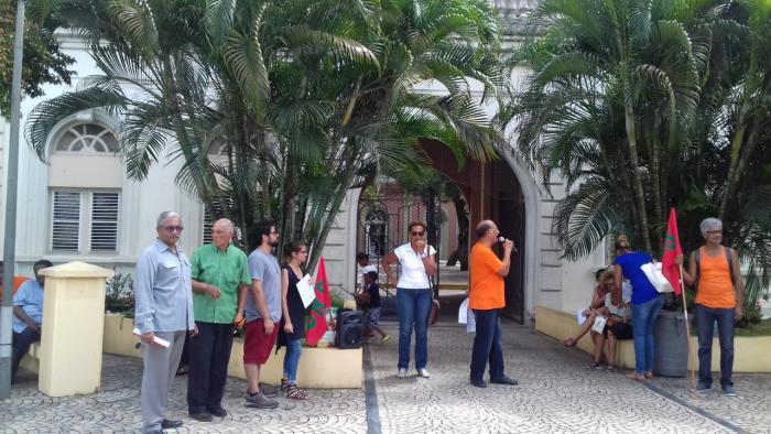Les martiniquais soutiennent la population brésilienne à l'approche du scrutin