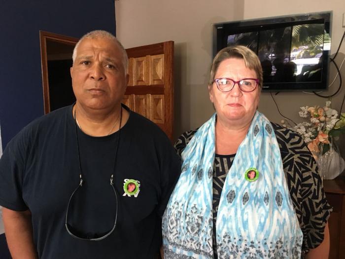 Les parents de Magalie Méjean en Martinique pour rendre hommage à leur fille et relancer l'enquête