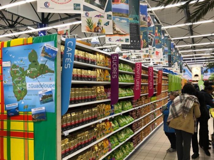 Les produits guadeloupéens en rupture au Leclerc de Saint-Malo