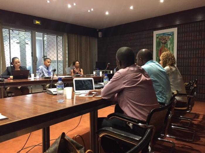 Les représentants de la chambre de commerce de la Dominique sont en visite en Martinique