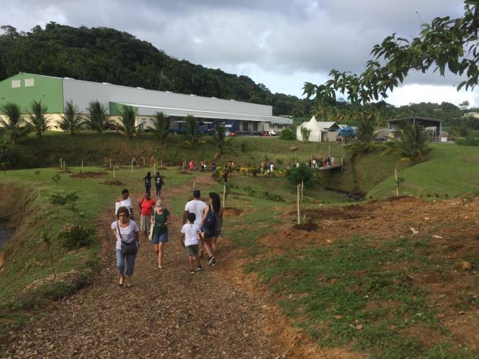 Les visiteurs ont découvert les procédés de fabrication de l'usine Dénel