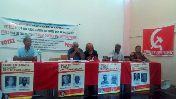 Lutte Ouvrière a tenu son meeting de campagne