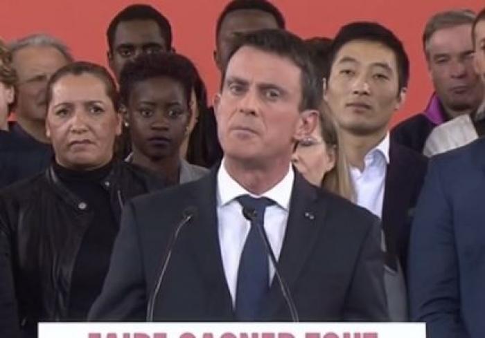 Manuel Valls est candidat à l'élection présidentielle