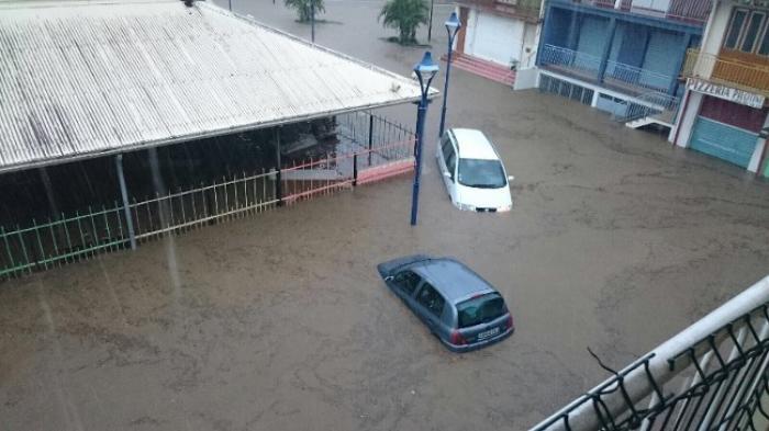Martinique sous les eaux en images