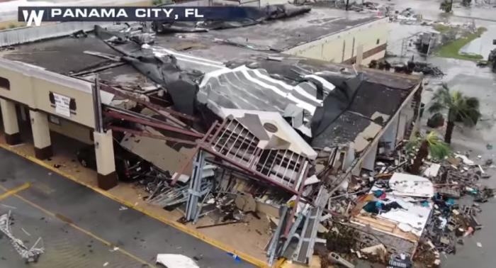 Montée des eaux, vents violents : l'ouragan Michaël dévaste le nord ouest de la Floride