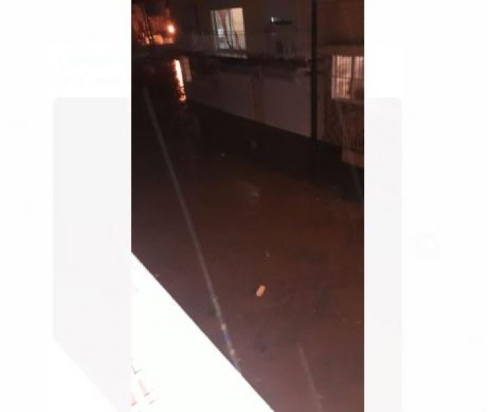 À Rivière-Pilote, la rivière est sortie de son lit après une nuit de pluie