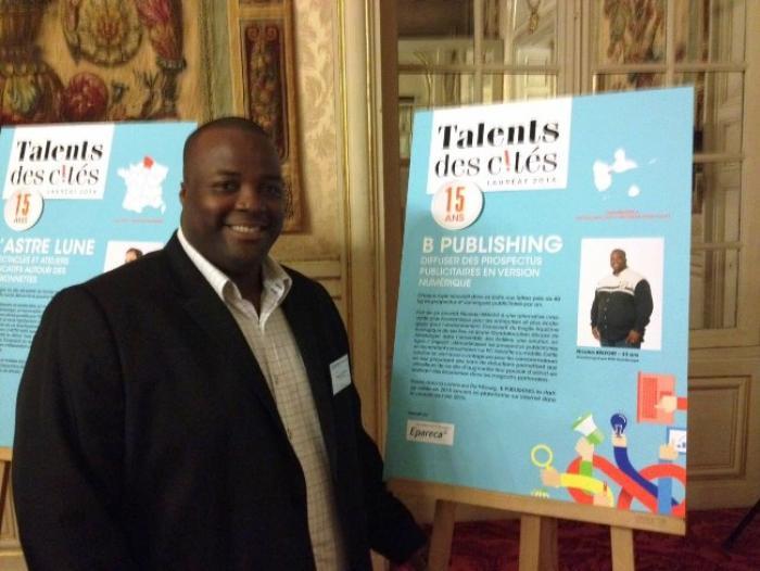 Nicolas Belfort, lauréat au concours Talents des Cités