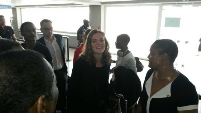 NKM est de passage en Guadeloupe